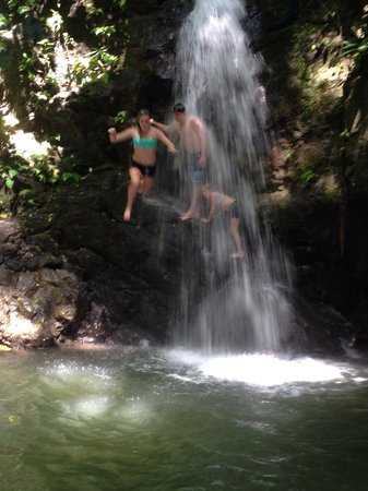 Lapa Rios Ecolodge Osa Peninsula: Waterfall hike
