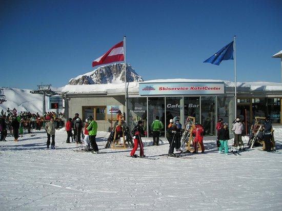 Nassfeld Ski Resort: On the top