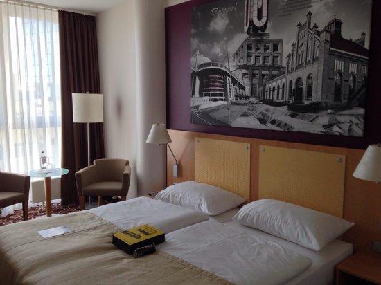 Mercure Hotel Dortmund City: Vores billetter til kampen, var klar ved ankomst :)
