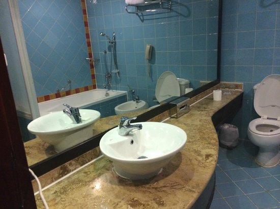 Porto Sokhna Beach Resort : bathroom