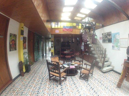 Coffee Town Hostel: Interna