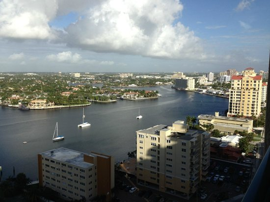 Marriott's BeachPlace Towers : Great view