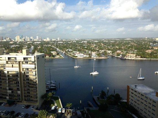 Marriott's BeachPlace Towers : Great weather