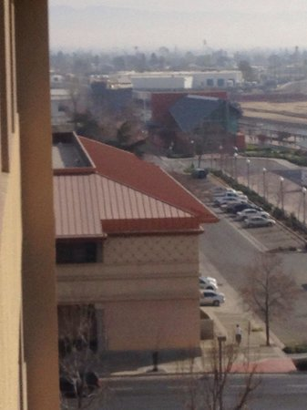 Bakersfield Marriott at the Convention Center : The Bakersfield Amtrak Station Can Be Seen From The Hotel Concierge Level