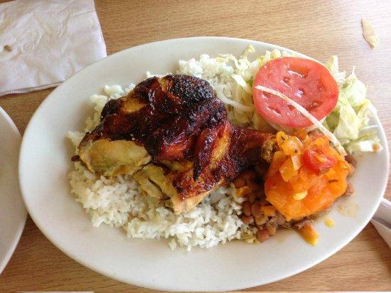 Pollos Pucalor: rotisserie chicken