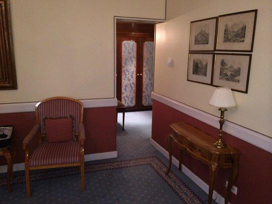 Hotel Sacher Salzburg: Jr.Suite zum Vorraum