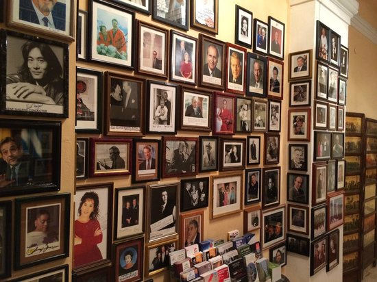 Hotel Sacher Salzburg: Galerie der berühmtesten Gäste