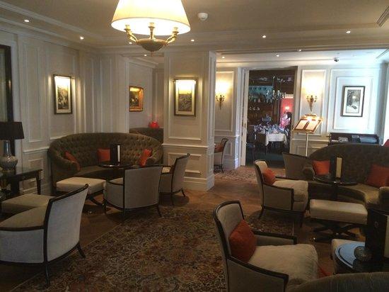 Hotel Sacher Salzburg: Sitzmöglichkeiten