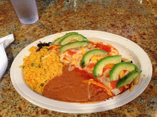 DOS Amigos Restaurant: breakfast burrito
