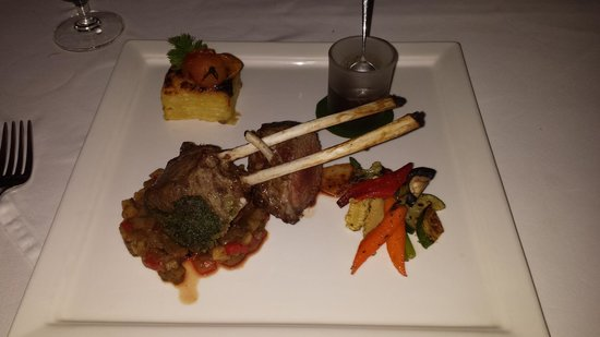 Zazen Restaurant: souris d'agneau