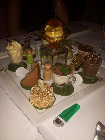 Zazen Restaurant: dessert ;(