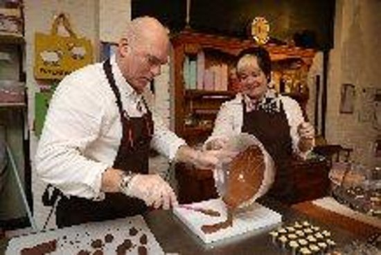 Grasmere Chocolate Cottage : Making the next batch