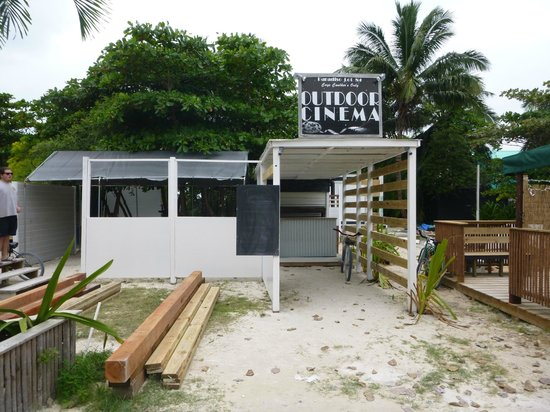 Coral Breeze Tours: Caye Caulker movie theater