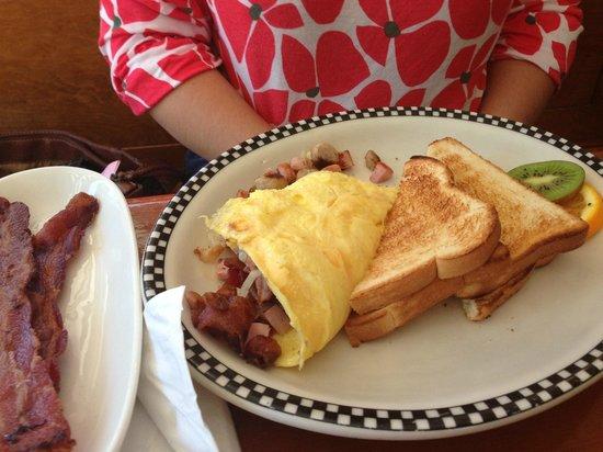 Amore Breakfast: omelette