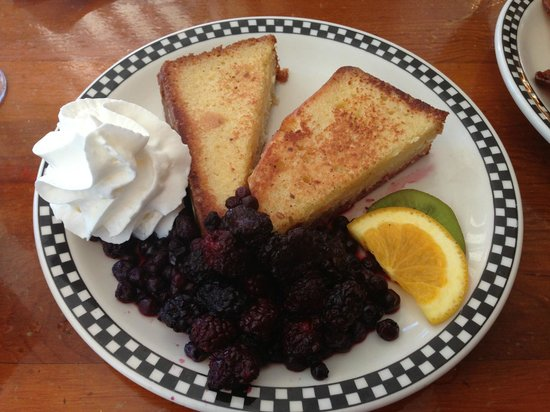 Amore Breakfast : french toast