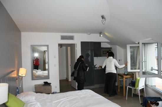 Appart'Hôtel Odalys Lorda : studios 515 lato cottura