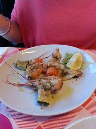 Hotel Ristorante Principe Decurtis: Fritto misto