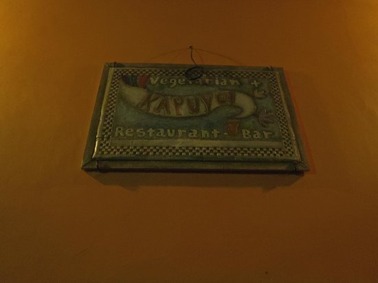 El Kapuyo: Restaurant Sign