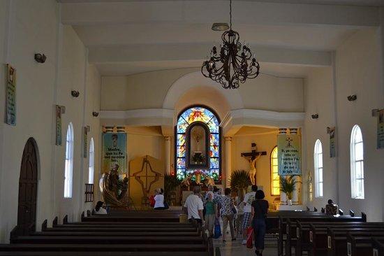 Mision de Nuestra Senora del Pilar: Inside Mission Church, Todos Santos