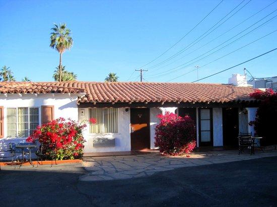 Coronado Motor Hotel-Yuma: One of the one-story buildings
