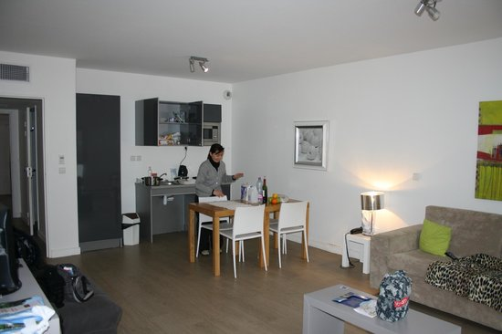 Appart'Hôtel Odalys Lorda : 518 lato cottura