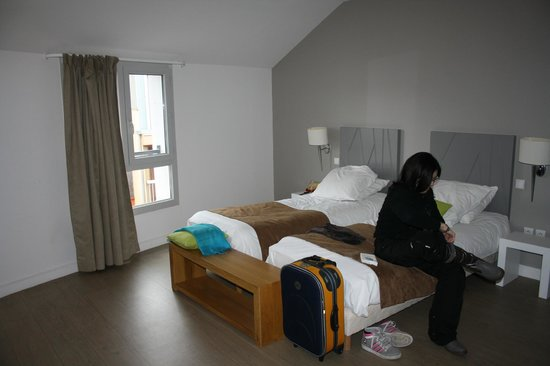 Appart'Hôtel Odalys Lorda : camera letto 518
