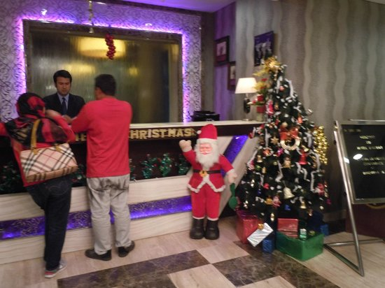 Hotel Jivitesh: Reception