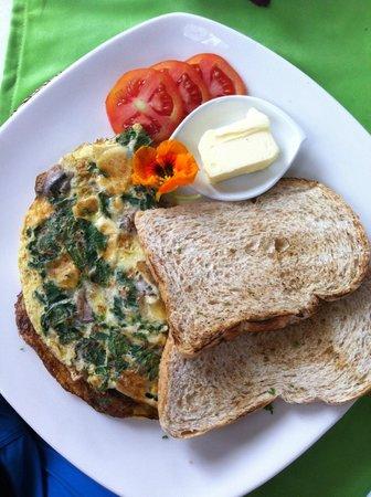 Manik Organik: Omelette
