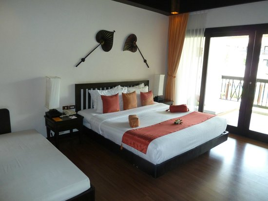 Bandara Resort & Spa : Our room