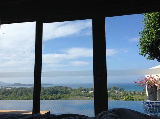 The Pavilions Phuket : View from the bed Villa #19