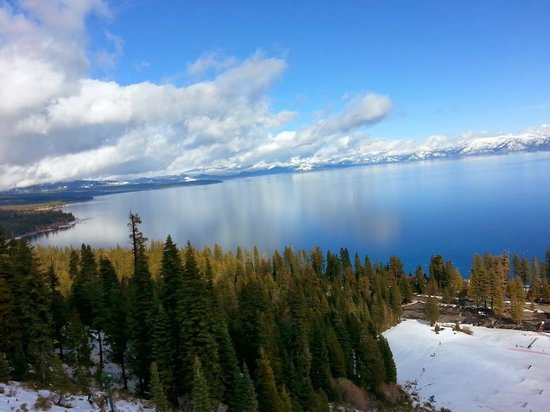 Sierra at Tahoe: View from the top!