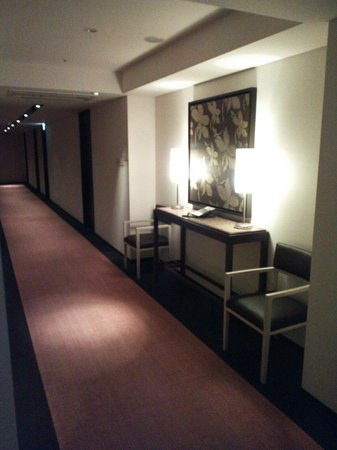 Hotel Forza Oita: 13.07.13【フォルツァ大分】廊下