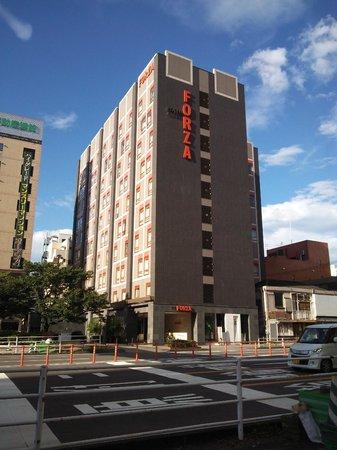 Hotel Forza Oita: 13.07.14【フォルツァ大分】ホテルの外観