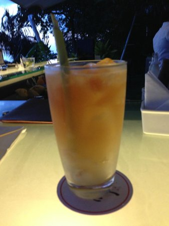 The Pavilions Phuket: Lychee and Lemongrass Ice Tea at 360 Bar