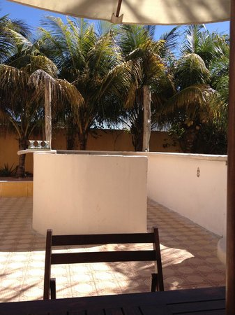 Hotel Quinta Progreso: Former bar area. The booze is on the reception desk in the front hallway now.