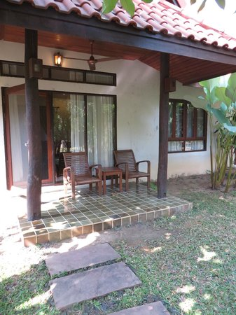 Baan Orapin Bed and Breakfast : Sitting area