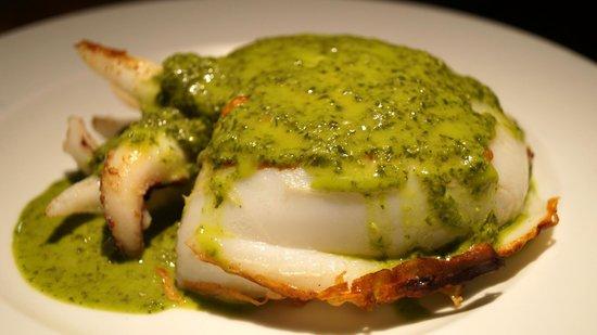 Bodeguita 1999 : Sepia a la plancha con salsa verde. Bodeguita1999 Alicante. Especialistas en carnes de calidad.