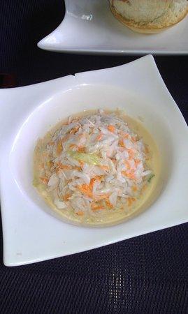 Fare La Canadienne: coleslaw maison