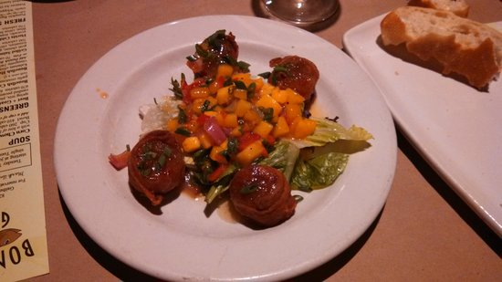 Bonefish Grill: Scallops wrapped in bacon