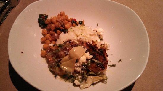 Bonefish Grill : Special Haddock over Garlic Mashed Potatoes
