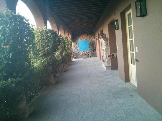 Hotel Nena : Zona de patio