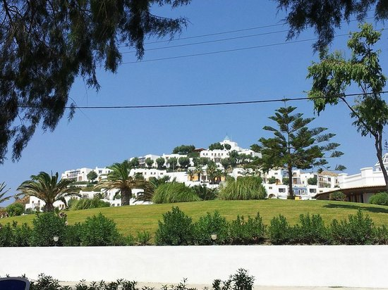 Lagas Aegean Village: Vista dalla strada