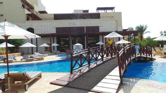 Jordan Valley Marriott Resort & Spa: gym and spa