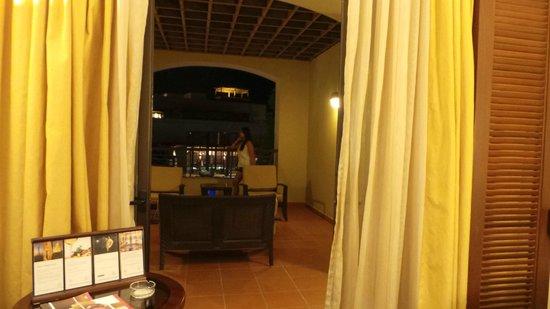 Jordan Valley Marriott Resort & Spa: balcony