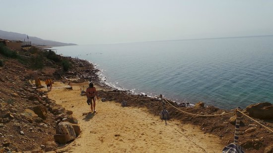 Jordan Valley Marriott Resort & Spa: beach area