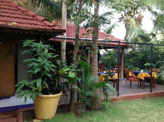 Bougainvillea Guest House Goa: Bougainvillea Lounge area