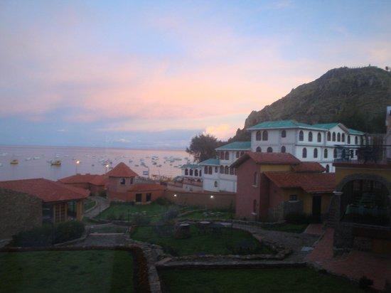Hotel Rosario Lago Titicaca: Vista desde la habitación