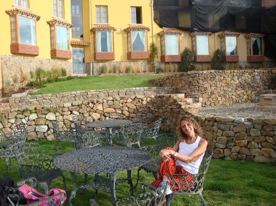 Hotel Rosario Lago Titicaca: Terrazas