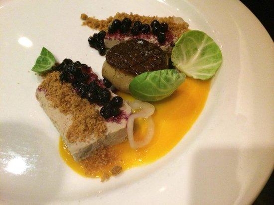 Grace - Ft. Worth: Foie gras tasting - good portion, rich, delicious