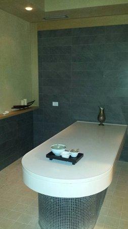 Hotel Caesius Thermae & Spa Resort : Esperienza trattamento rasul...unica
